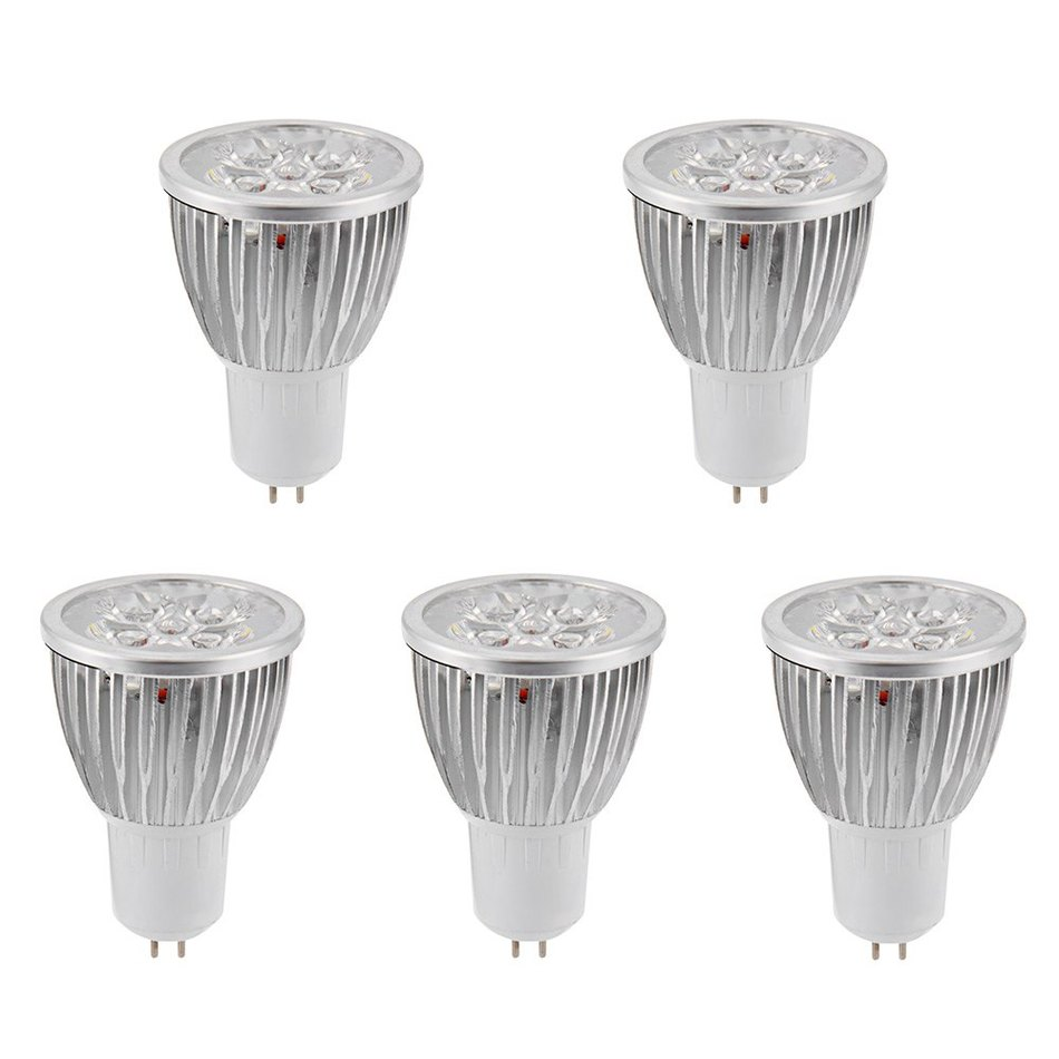 5PCS 15W GU5.3 2 colors LED Spotlight Bulb 30 Degree Beam Angle Lamp Home Commercial Lighting
