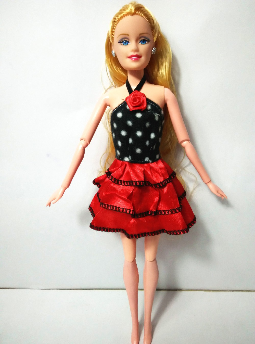 New Lovely Handmade Get together Garments Trend Costume for Noble Barbie Doll , free delivery Blended fashion 20 issues aa458OEM
