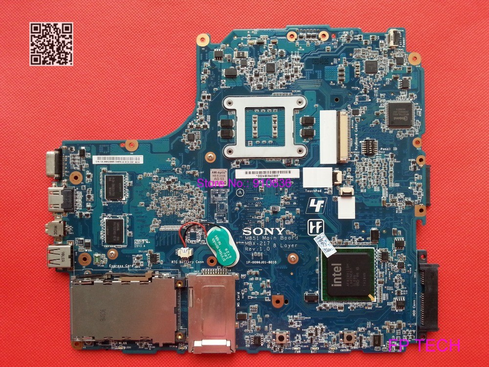 For Sony M851 MBX-217 A1747081A 1P-0096J01-8010 laptop motherboard fully tested & working perfect(China (Mainland))
