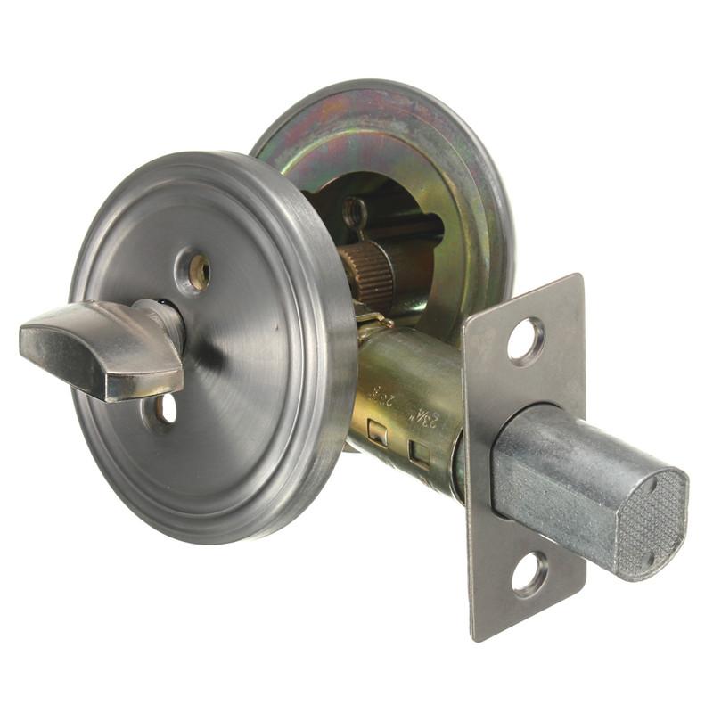Excellent Quality Stainless Steel Silver Deadbolt Internal Door Cylinder Lock Rim Dead Bolt Night Latch Nightlatch Keys(China (Mainland))
