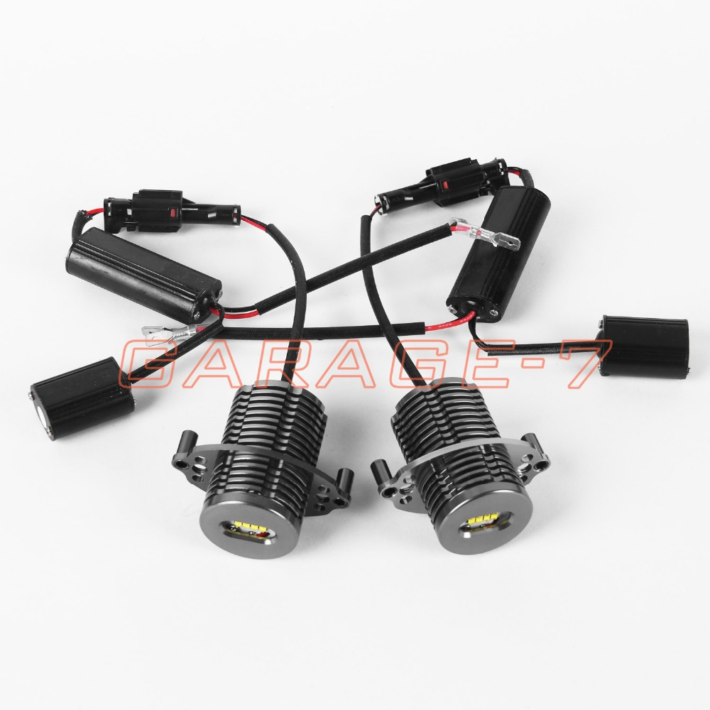 2pc 40w Led Angel Eyes Lights For BMW E90 E91 LCI Only Leading Lights Led Angel Eyes(China (Mainland))