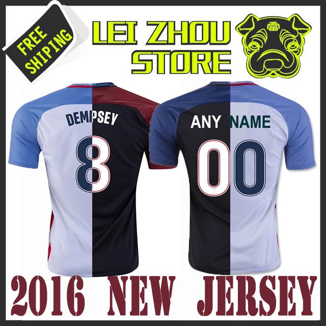 2016 2017 Copa America DEMPSEY Soccer Jersey 16/17 Morgan HOWARD YEDLIN Centenario BECKERMAN Man ZUSI Jerseys Football Shirts(China (Mainland))