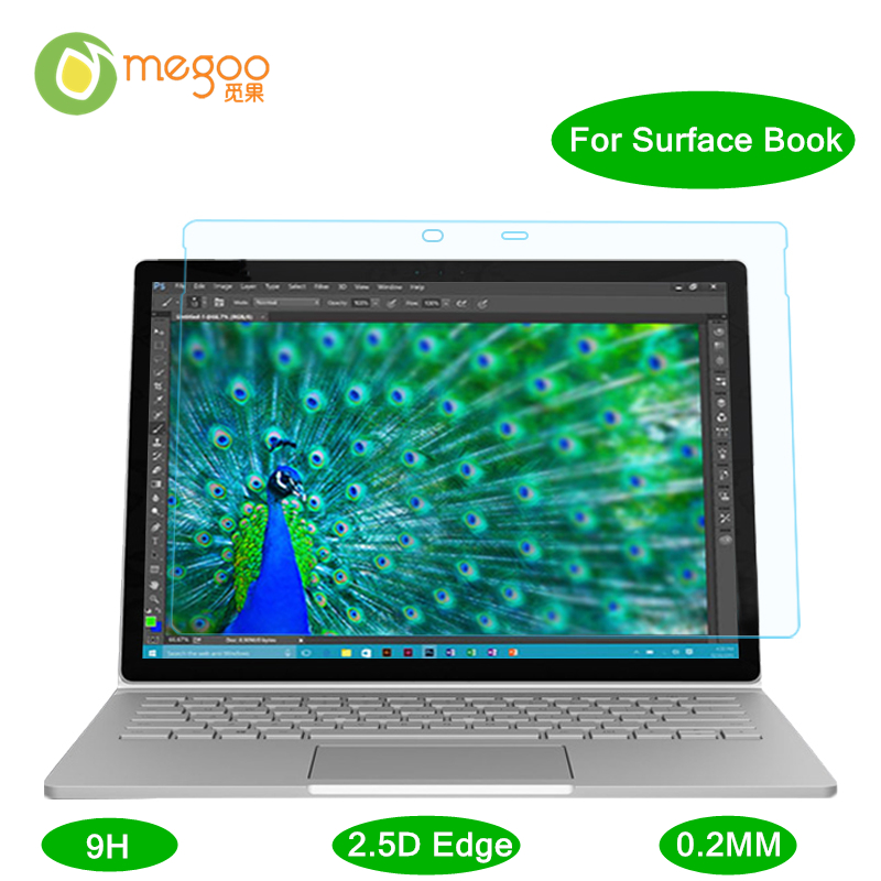 Megoo Surface Book Tempered Glass Screen Protector Film Ultra Clear/ 2.5D Edge/ 0.2mm / 9H Guard Film For Microsoft Surface Book<br><br>Aliexpress