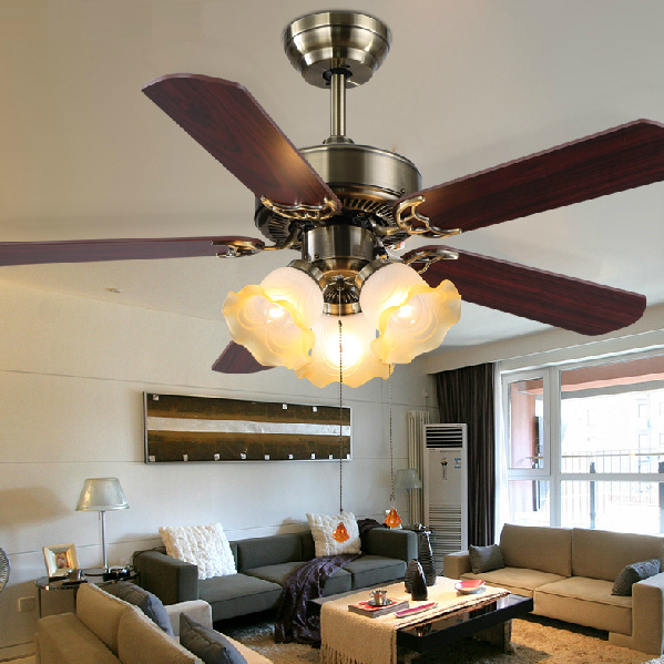 240v Romantic ceiling fan for living room, dinning room, ceiling fans - Ceiling Fan For Living Room