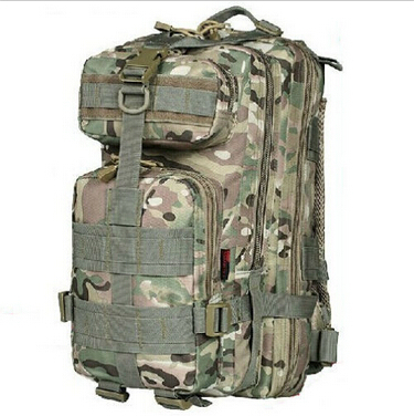 Top Sale 2015 Soldier Camouflage Backpack Unisex Outdoor Military Tactical Backpack Camping Hiking Bag Trekking Sport Rucksacks(China (Mainland))