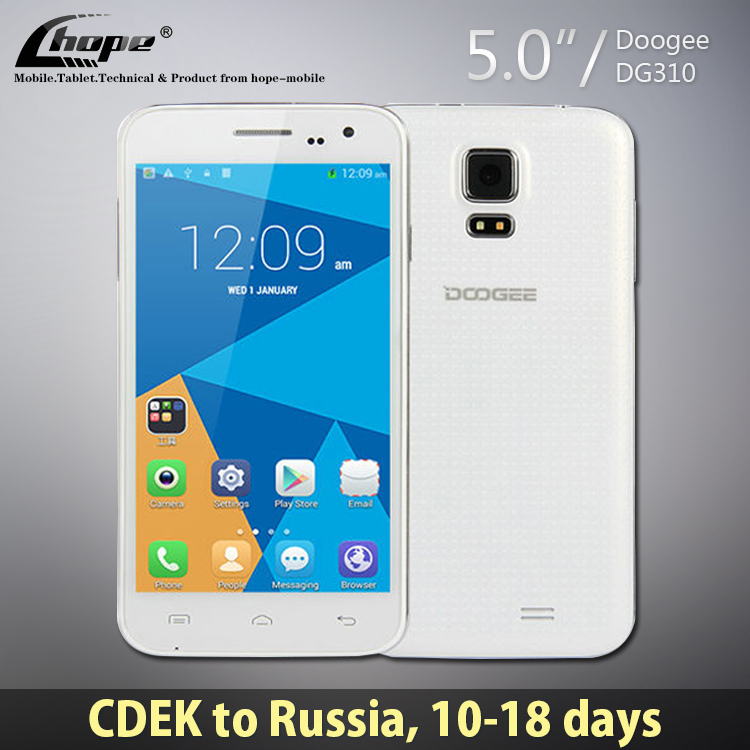 "Case Gifts!Original Doogee Voyager2 DG310 MTK6582 Quad Core Android 4.4 Cell Phone 1GB RAM 8GB ROM 5"" 5MP Camera WCDMA OTG GPS(China (Mainland))"