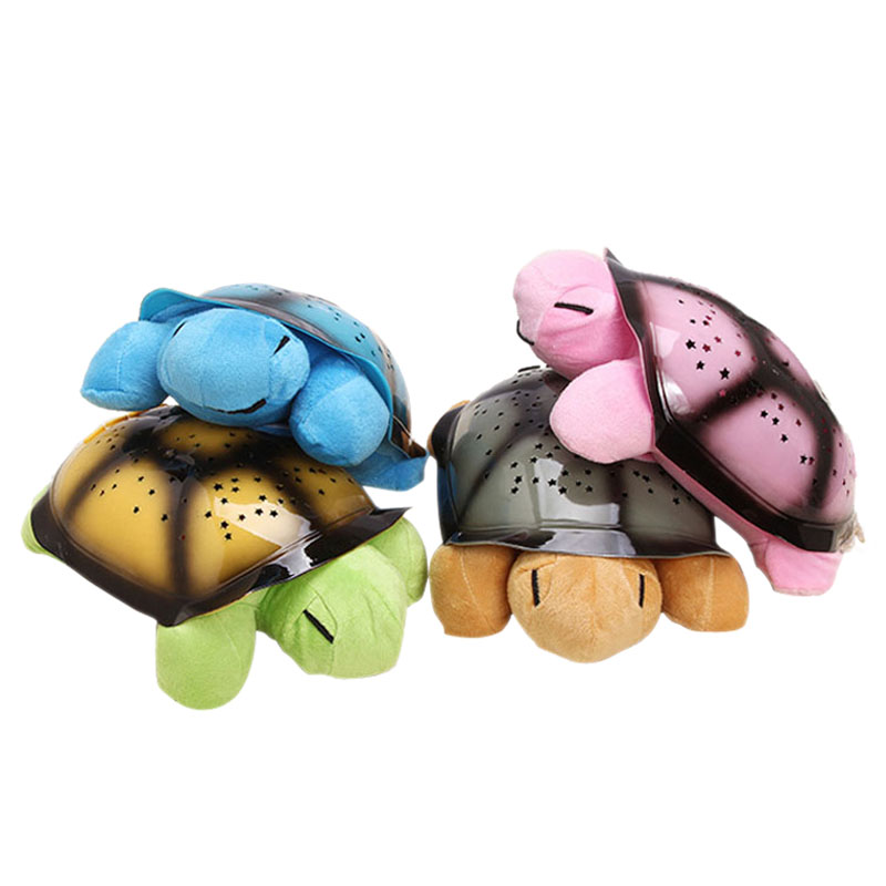 Turtle Star Projector Lamp Turtle Lamp With Music Hypnotic Turtle Night Light 32cm*19cm*10cm(No Batteries)(China (Mainland))