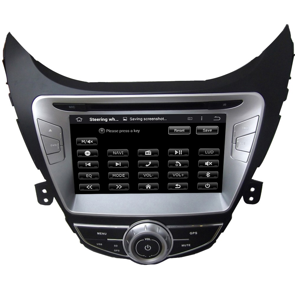 Quad Core Android5.1.1 Car Dvd Player For Elantra/Avante/I35 2011 2012 2013 With 16GB Flash Mirror Link GPS Map Free Shipping