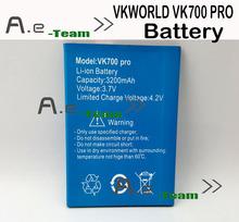 Vk700 PRO аккумулятор 100% оригинал 3200 мАч аккумулятор заменить батарею для VKWORLD VK700 PRO смартфон + в наличии — бесплатная доставка