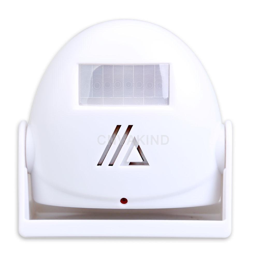 #Cu3 White Welcome Chime Motion Sensor 10m Warning Doorbell Door Bell Alarm<br><br>Aliexpress