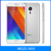 Original MEIZU MX5 Flyme 4.5 Smartphone 5.5 inch MT6795 Helio X10 Turbo 2.2GHz Octa Core 32GB ROM 4G LTE Fingerprint Cell Phone