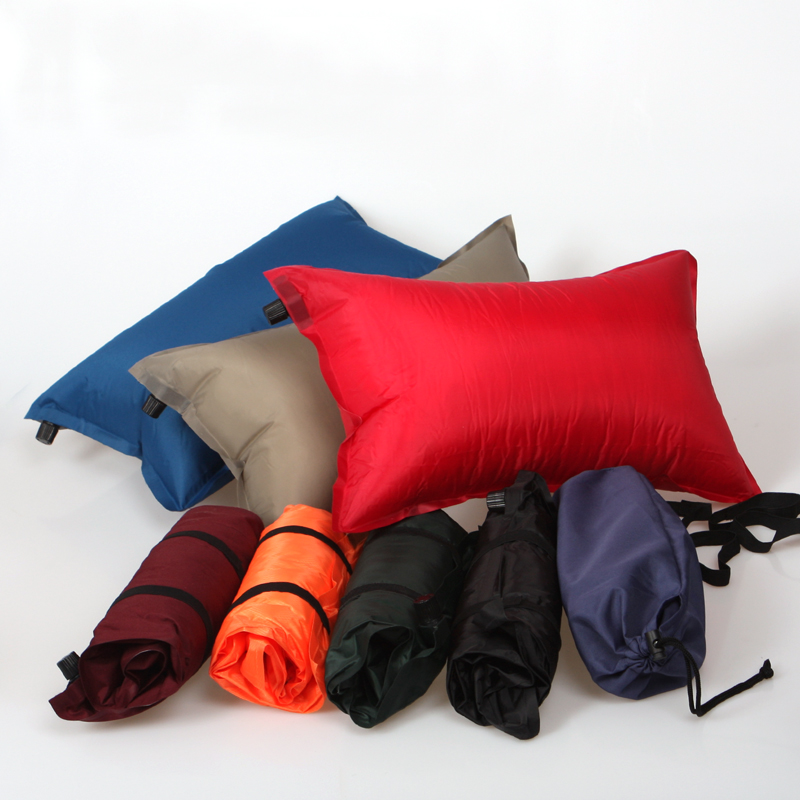 The automatic inflatable pillows Travel pillow cushion for leaning on Outdoor tent pillow