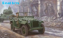 Kit trompetista modelo 02346 1/35 soviéticos GAZ-67B vehículos militares modelo de plástico