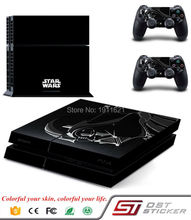 1 Set Vinyl For PS4 Sticker For Sony Playstation 4 Console+2 Controller Sticker For PS4 Skin For STAR WARS
