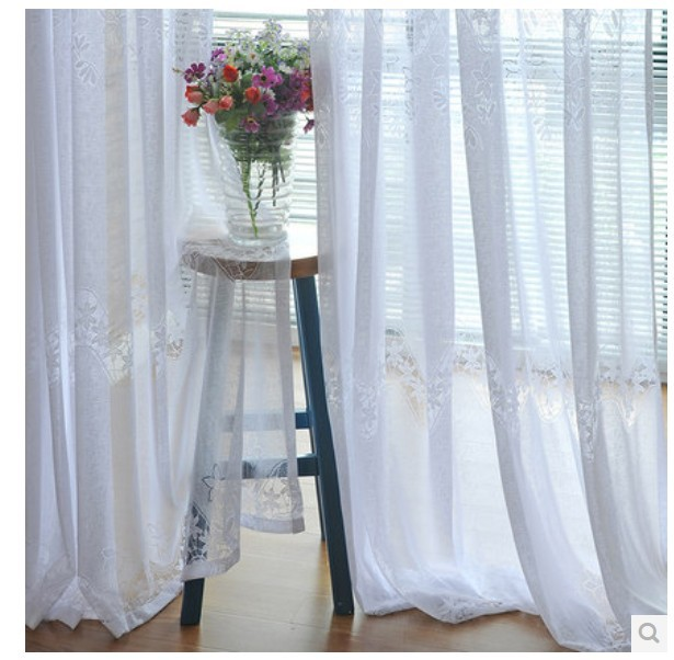 High Quality White Bedroom Curtains Promotion-Shop for High ...