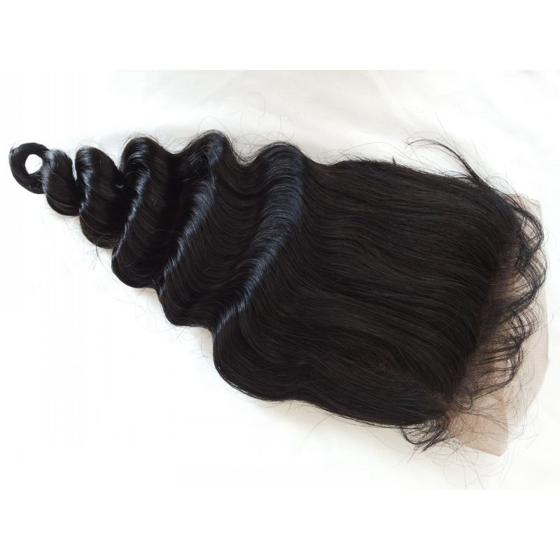 13x4 Mongolian Full Lace Frontal Closure 8- 22 Inch 7A Loose Wave Mongolian Virgin Human Hair Ear To Ear Lace Closures<br><br>Aliexpress