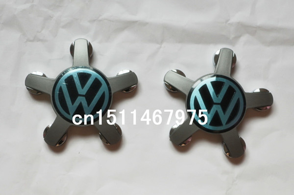 100pcs/lot 140mm VW Emblem Wheel Center Caps with5 pins Volkswagen Badge Wheel Cover Hub cover For Eos GTI Tiguan Golf B6 Passat(China (Mainland))