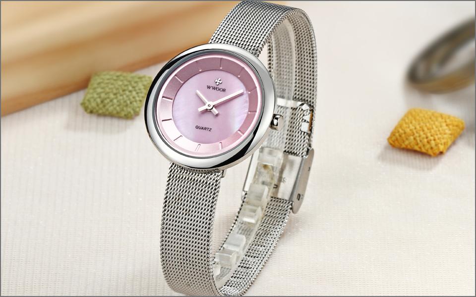 women's watch Fashion Brand Luxury Ladies Casual Ultra-thin Quartz Watch Woman Clock Steel Bracelet Wristwatch Relogio Feminino
