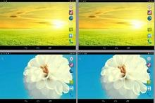 Dual camera 2G phone call 2SIM card Phone call tablet pc Mini tab pc Dual core