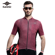 Buy Santic Men Cycling Jerseys 2017 Summer PRO Sportswear MTB Road Cycling Clothing Bike Bicycle Cycle Shirt Tops Camisa De Ciclismo for $36.62 in AliExpress store