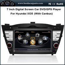 Car DVD Video Player For Hyundai IX35 TUCSON 2010 With canbus function GPS Navi Radio Bluetooth Free Map