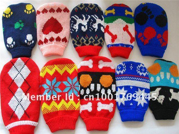 wholesale  knitting pet sweater, handmade dog sweater 6#