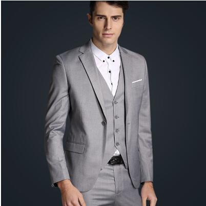 Красочные 2015 роскошных людей свадебные костюмы содержат пиджак + брюки + жилеты 3 шт. костюмы мужчины деловой ну вечеринку точка-красно-брюки костюмы размер m-xxl
