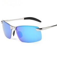 Lunettes Polarized Male Sunglasses Brand Designer Aluminum Magnesium Men Sunglass Driving Sun Glasses Oculos De Sol Masculino
