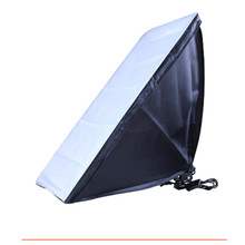 Photo Studio Softbox 50x70cm/20″x28″ with Single Lamp Holder Universal Mount for E27 Light Tent Photography