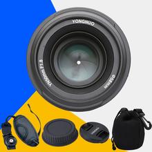 Buy YONGNUO YN50mm f1.8 YN EF 50mm f/1.8 AF Lens YN50 Aperture Auto Focus Canon 1000D 1100D 450D 500D 550D 600D 60D 5D Mark III for $56.58 in AliExpress store