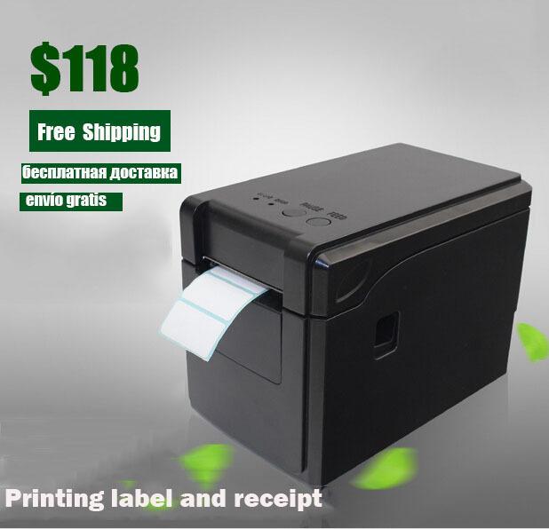 GP-2120T Thermal Barcode Printer bluetooth label printer for supermarket and vendor can print receipt impressora multifuncional(China (Mainland))