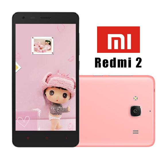 Xiaomi Redmi 2 Red Rice 2S Xiaomi Hongmi 2 Mobile Phone Quad Core MIUI 6 4.7 inch 4G LTE Cell Android Original In Stock()
