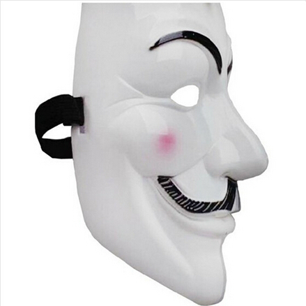 2lot High qualityParty Masks 1pcs V for Vendetta Anonymous Guy Fawkes Mask Halloween Cosplay Free shipping Scary Mask(China (Mainland))