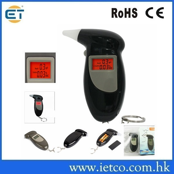 Breathalyzer with Mouthpieces Time Mini alcohol tester(Hong Kong)