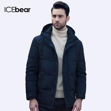 ICEbear 2016 Четыре Цвета Известная Марка Одежды Зима Полиэстер Мужчины парка Снег Высокого Качества Короткая Куртка Пальто 16M011D(China (Mainland))