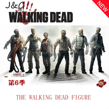 The Walking Dead Action Figure Cosplay Covernor Michonne Rick Grimes Toy 13cm Pvc Juguetes Building Model Brinquedos Kids toys