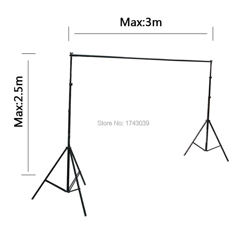 2 5 3M 8 2ft 10ft Professinal Photography Backdrops Stand Photo Background Stand Photo Studio Accessories