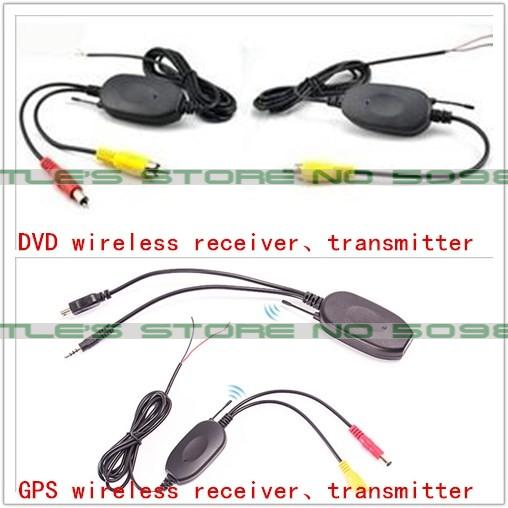 2.4Ghz Wireless Transmitter and Receiver for Reverse Camera Video Car Backup Rearview Parking Reversing Camera Wholesale Retail<br><br>Aliexpress