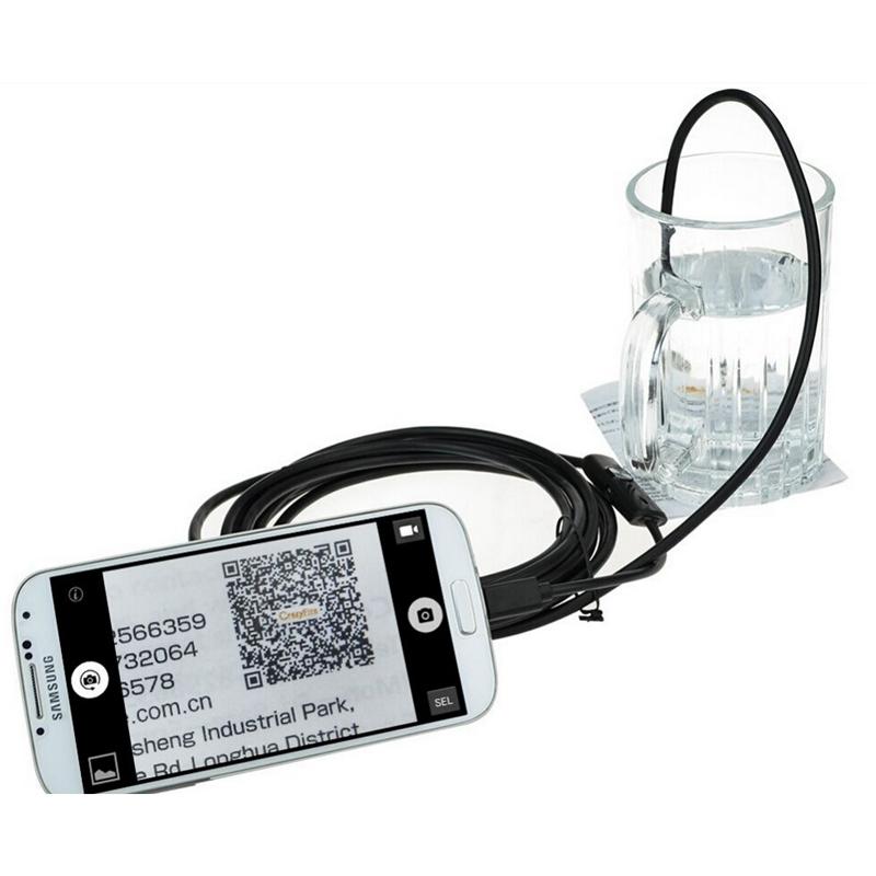 Waterproof 9MM 6 LED 3.5M OTG Android HD mini usb endoscope security Camera(China (Mainland))