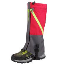 2Pcs Outdoor 2 Layers Waterproof Camping Hiking Snow Leg Gaiters For Outdoor Skate Skiing Walking Shin Leg Protect Equipment(China (Mainland))