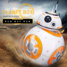 Star Wars Intelligent Electric Fighting Robot Force Awakens BB-8 Remote Control Toy RC Droid Figures Christmas Gift - Canton Youmai E-Commerce Co., Ltd. store
