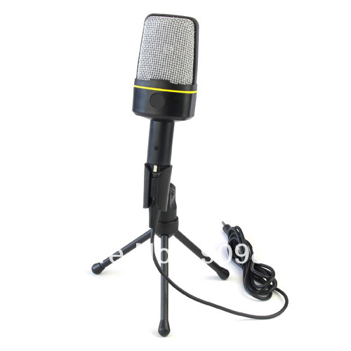 100% Brand New SF-920 Condenser Microphone for Laptop Notebook PC Computer Freeshipping(China (Mainland))