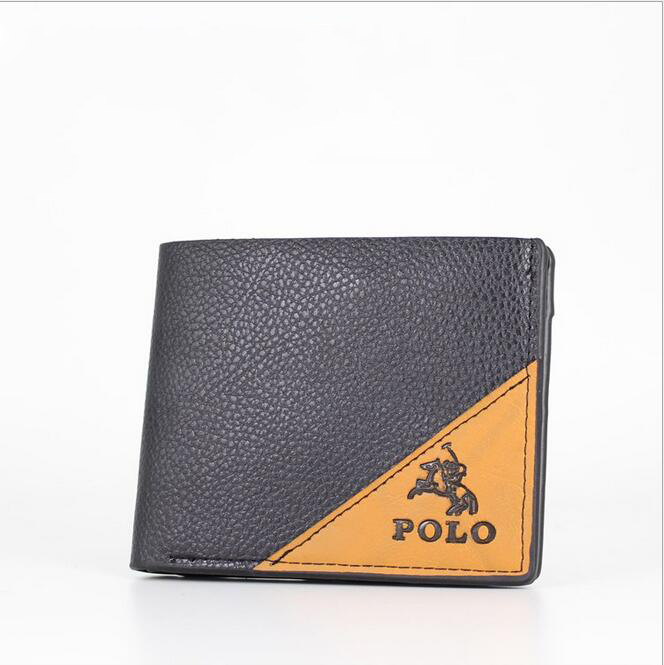 Hot!!!The new fashion designer real cowhide short mens wallets Compact Wallet free shipping<br><br>Aliexpress