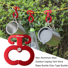 Buy 3pc Ultra-light Aluminum Camping Tent Rope Buckle Hook Portable Tent Wind Rope Stopper Tent Accessories Outdoor Hiking Equipment for $3.87 in AliExpress store