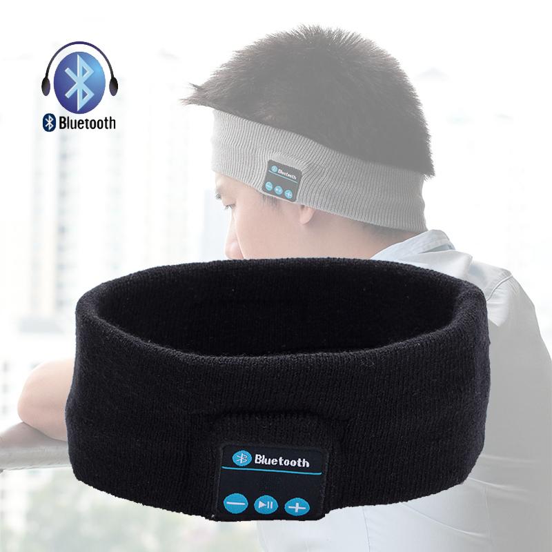 Wireless Bluetooth Headset Headwear Strap Handsfree Mp3 Music Player Headphone Sleeping Sports Earphone for Women Men Girls Boys(China (Mainland))