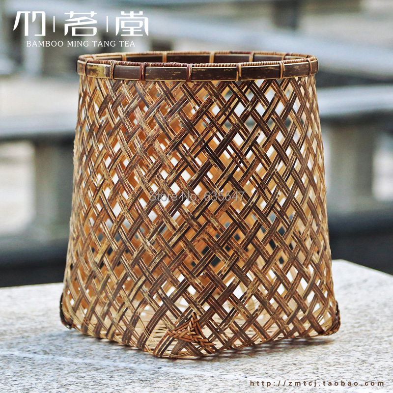 Handmade Basket Paper : Round zizhu paper basket handmade knitted baskets quality