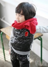 Free shipping Sweater winter the letter A pattern of trade children's clothing boys and girls cotton Long sleeve trousers suit(China (Mainland))