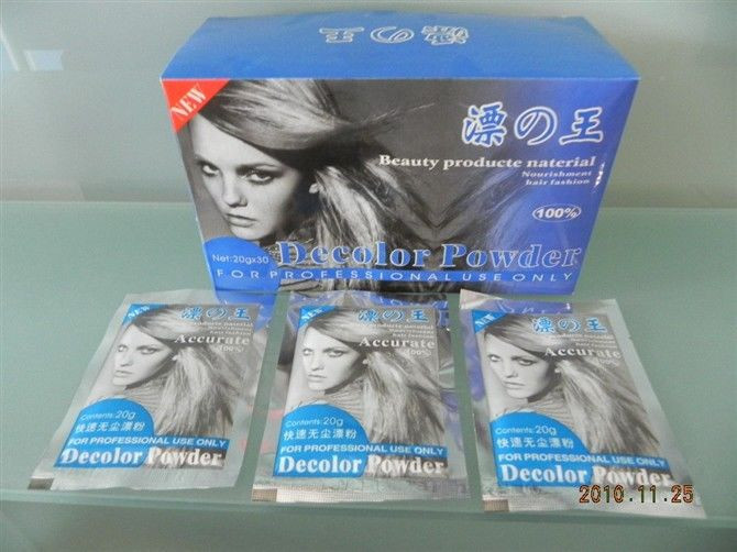 Free shipping 20g genuine security high efficiency bleaching powder decolor powder(China (Mainland))