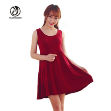 2016 Summer Maternity Dress Loose Dresses For Pregnant Clothes O-neck Sleeveless Pregnancy Vest Cake Dress Photography Props