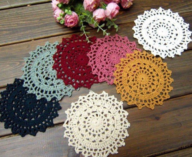 Patrones de tapetes redondos en crochet imagui - Patrones tapetes ganchillo ...